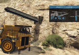 Füllanzeige Minenarbeiter